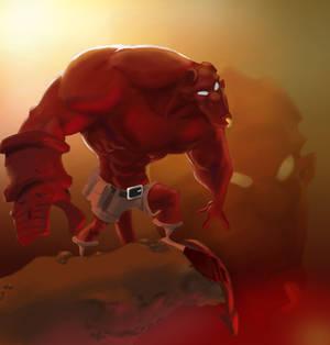 Hellboy by DeathbySoda