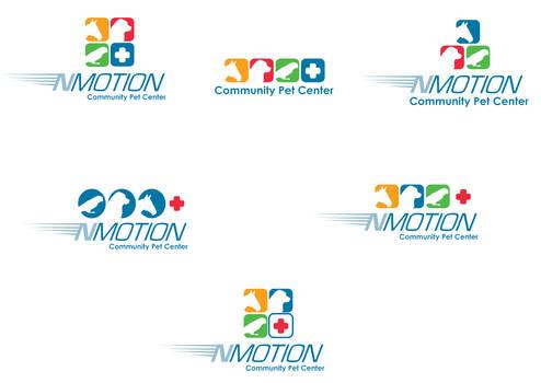 NMotionCommunCenter logo drafts