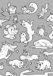 parade of creatures - dA 17