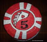 Poker Chip Cake