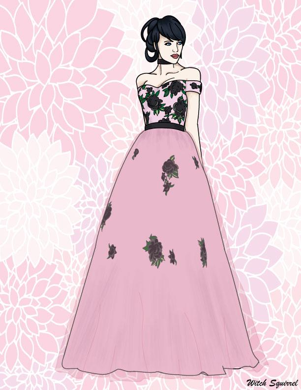 Mari flower dress by WitchSquirrel