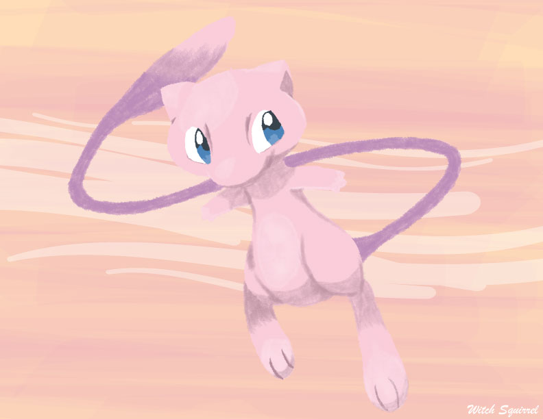 Mew by WitchSquirrel