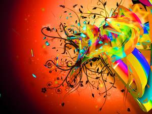 C4d Color Flow