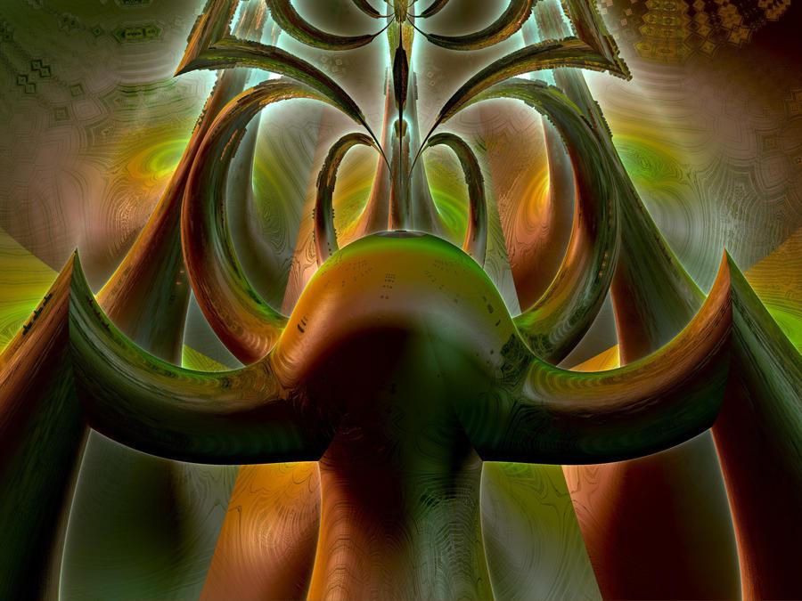 Alien Predator by Ancient--One