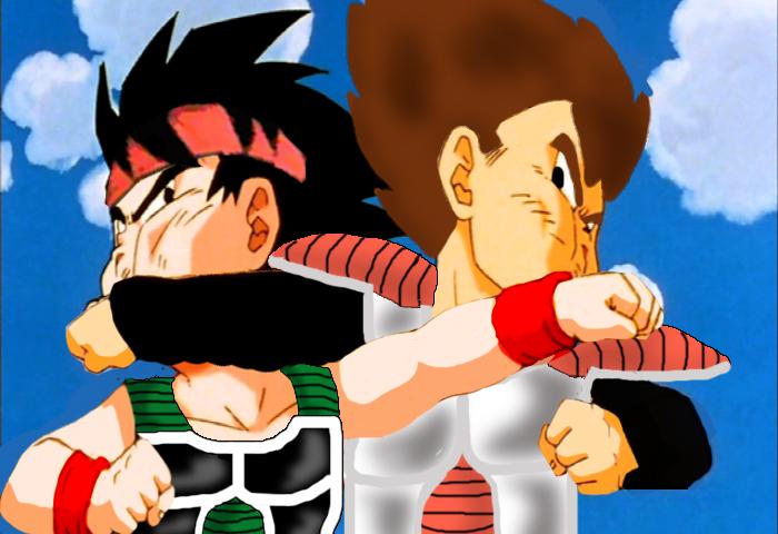 kid bardock vs kid king vageta by shadow-roxas on DeviantArt