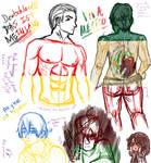 Male Anatomy practice hetalia
