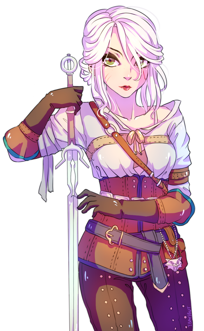 Cirilla by ibahibut