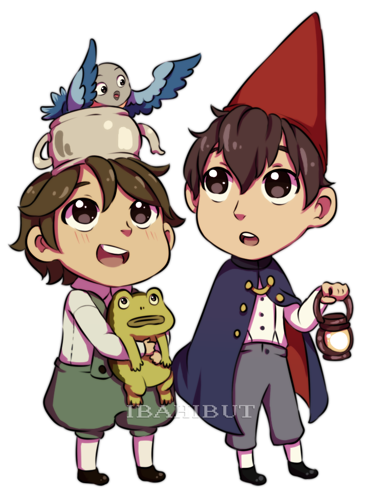 Chibi Beatrice Greg And Wirt Fanart By Ibahibut On