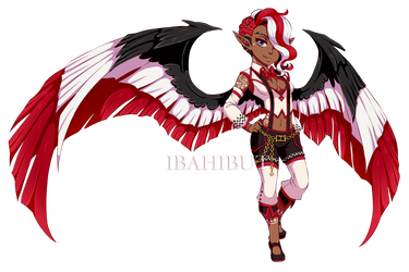 [CLOSED] Demon Girl Adoptable Auction + Extra by ibahibut