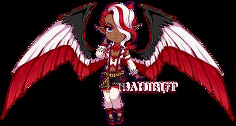 [EXTRA] Chibi Demon Girl adopt by ibahibut