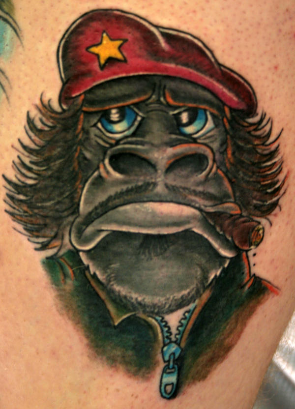 Guerilla Gorilla by theJorell