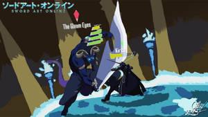 Sword Art Online: Kirito VS The Gleam Eyes