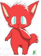 so red and cute by colni