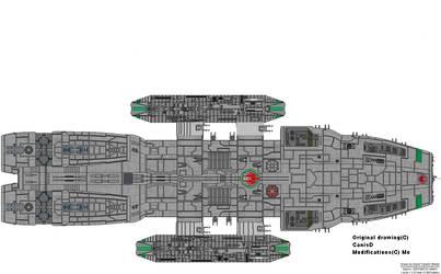 Fearghas Class Battlestar