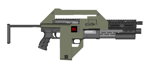 PMG Custom Pulse Rifle