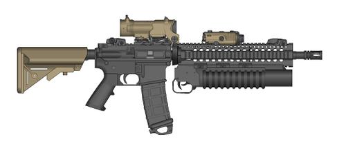 PMG MARSOC-Inspired M4