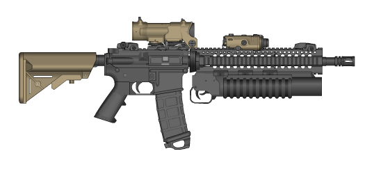 PMG MARSOC-Inspired M4 by trooperbeta