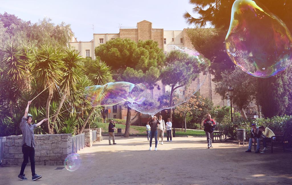 Barcelona Bubbles by TyraNolan