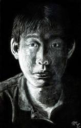 Portrait by MaikeruGo