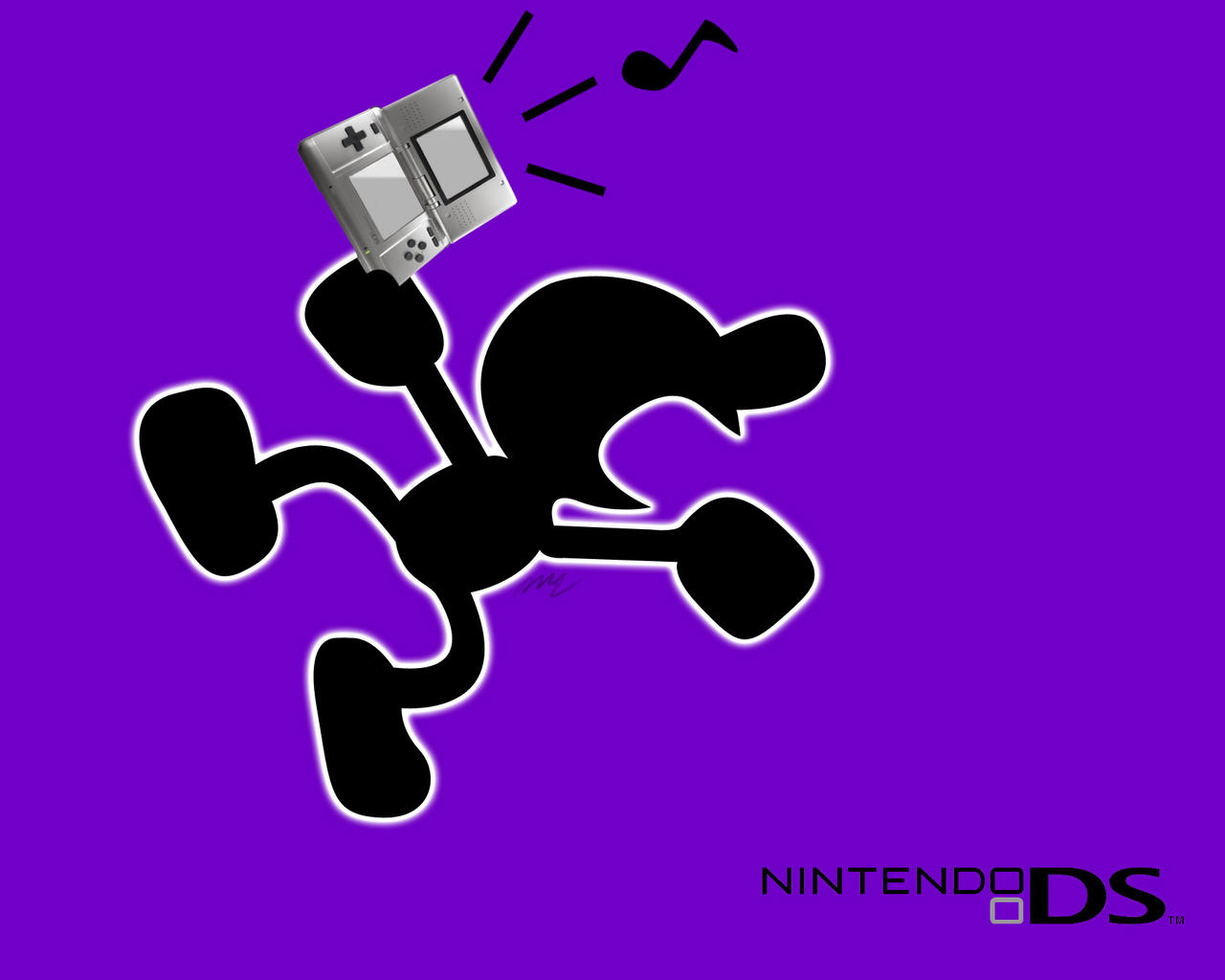 Game Wallpaper Mr Game And Watch Ds Ad By Maikerugo On Deviantart