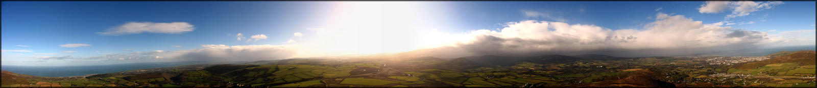 Great Sugar Loaf panorama view by aaaxxx