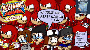 BSC Titlecard - Knuckles Mania (And Knuckles)