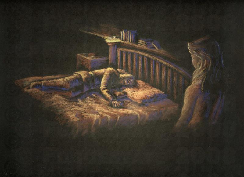Watching him sleep by FugueState