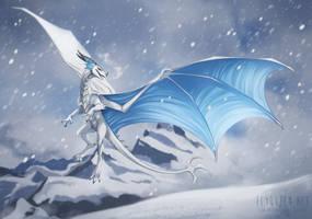 Alpine Psydrache by FlyQueen