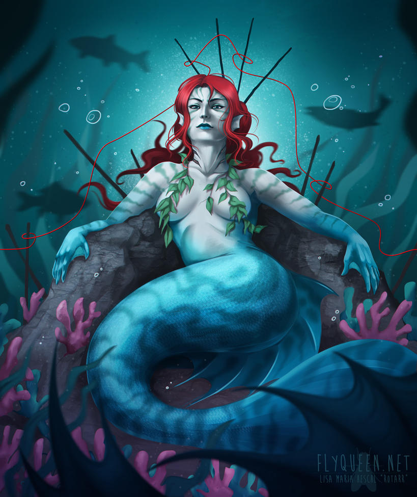 Deep Sea Queen by FlyQueen