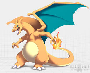 Charizard by FlyQueen