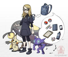 Me in the Pokemon world