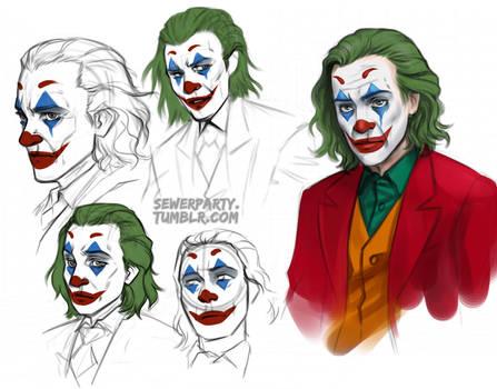 Joker Sketches