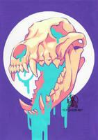 Dripping Skull