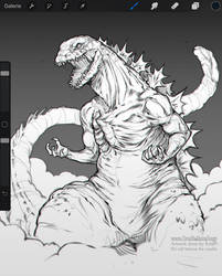 Shin Godzilla Sketch
