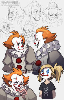 210501 Pennywise Sketchdump