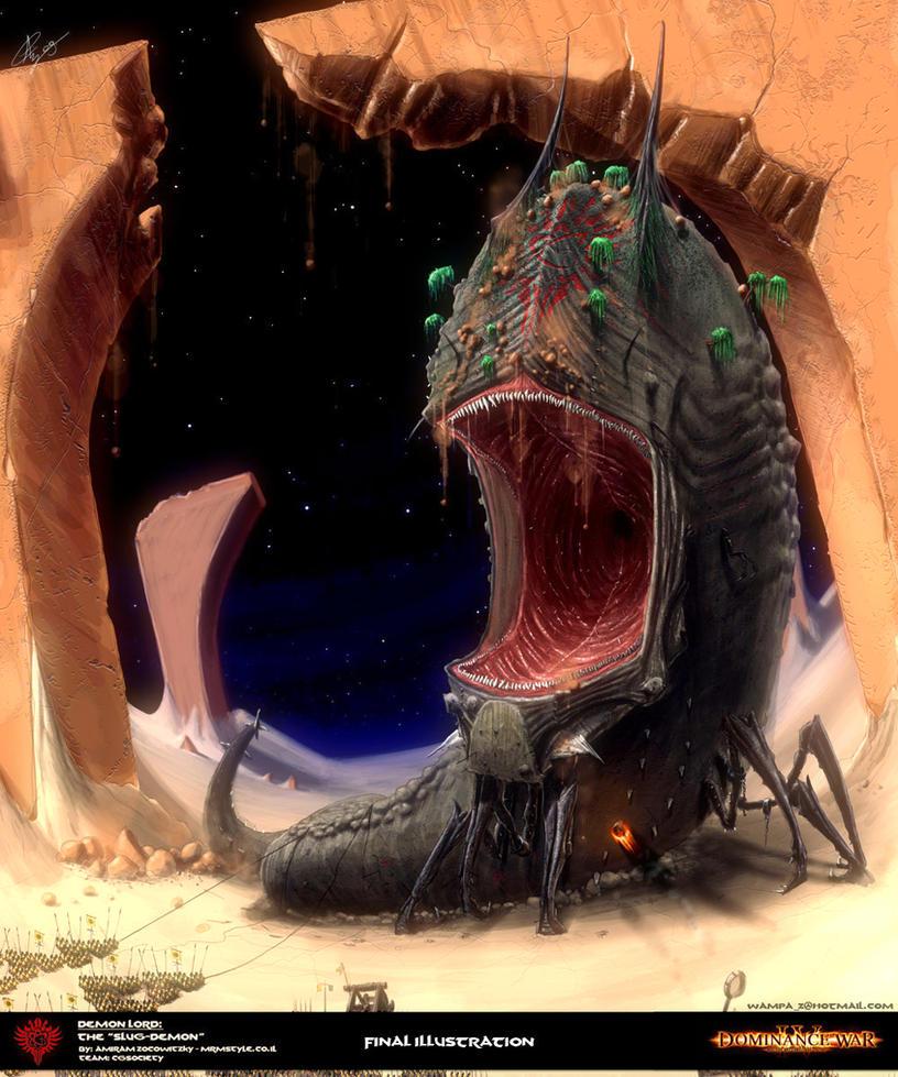 #060 - Entropic Slug Slug_demon_by_amiramz