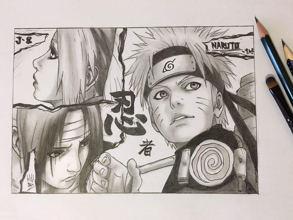 Naruto artbook fanart by Yugen96