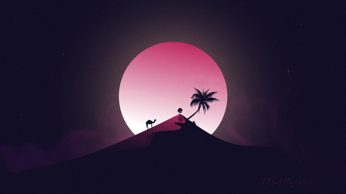 African moon by Th3AlleyCat