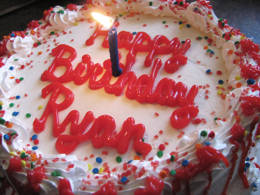 happy_birthday_ryan_by_mfashions d2ybrlx download birthday cake for my love 5 on download birthday cake for my love