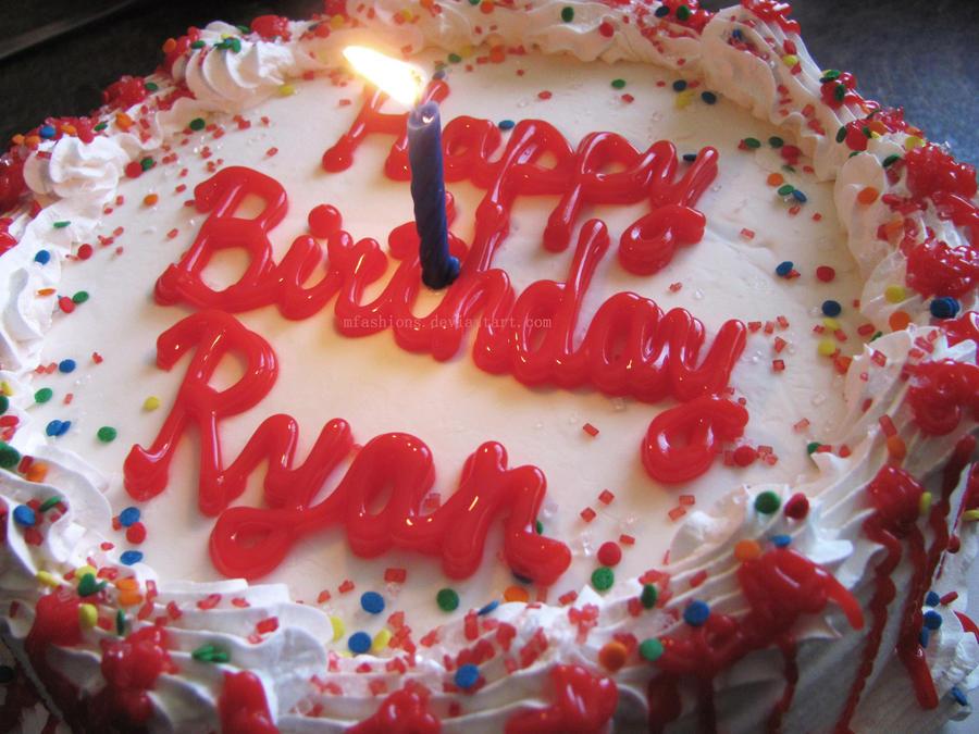 Happy Birthday Ryan Cake Images