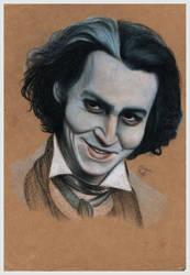 Sweeney Todd AKA Johnny Depp
