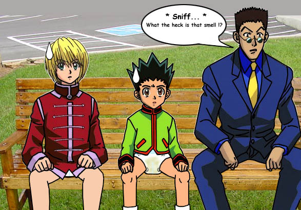 Once again Leorio fails to notice the obvious by bigddan11