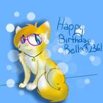 Happy early birthday Bella! :D