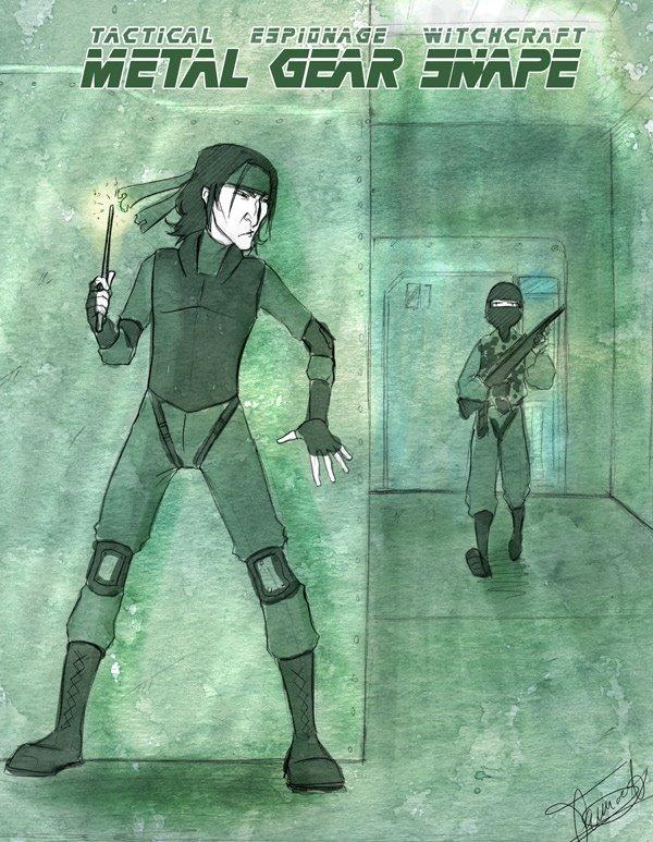 Metal Gear Snape LOL by Noiry
