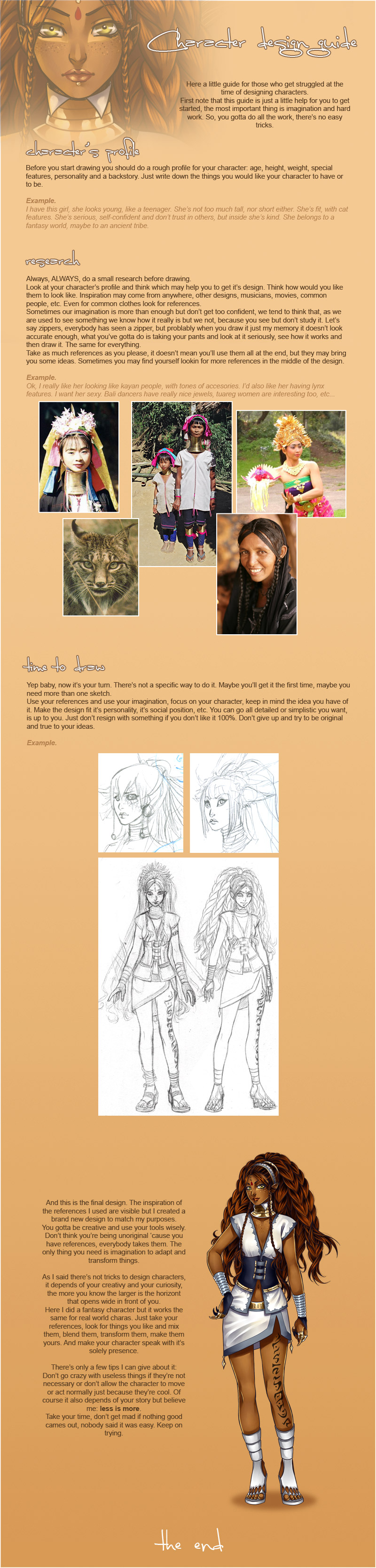 Basic Character Design Tips : Character design guide by noiry on deviantart