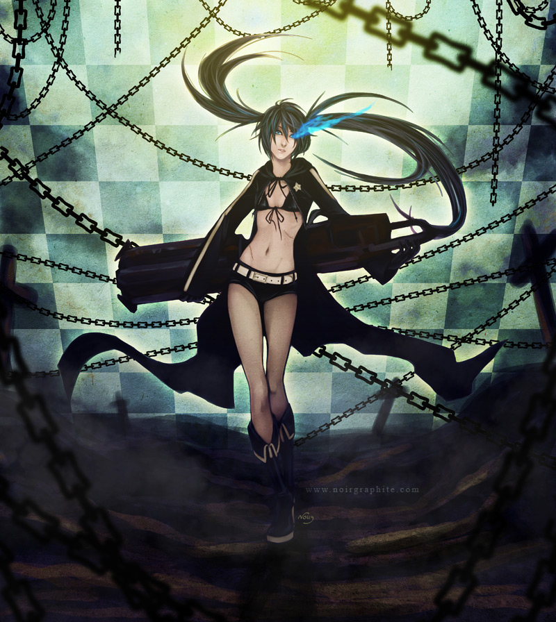 Black Rock Shooter by Noiry