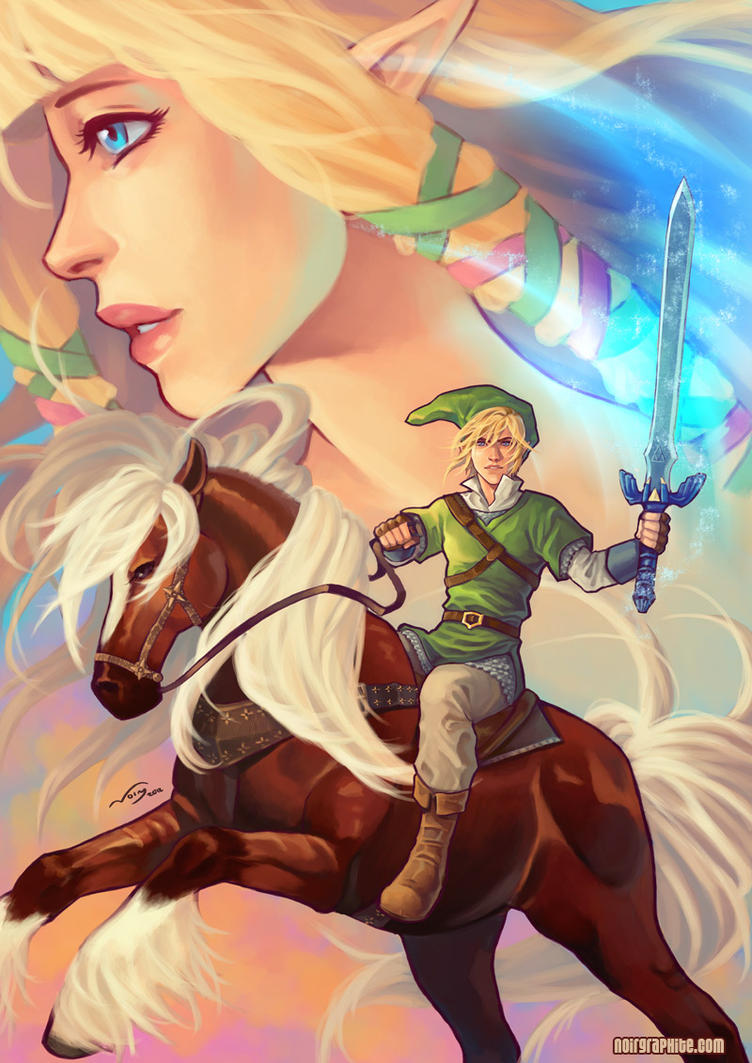 Legend of Zelda by Noiry