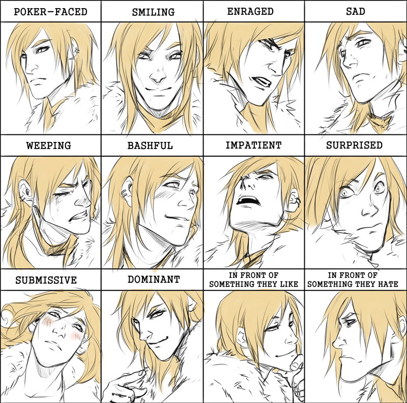 Comm: Abces expression meme by Noiry