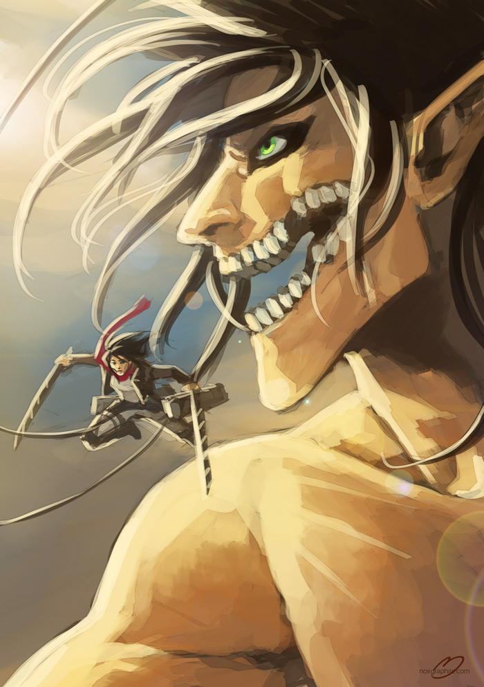 Attack on Titans by Noiry