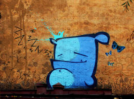 on ROOF by KIWIE-FAT-MONSTER